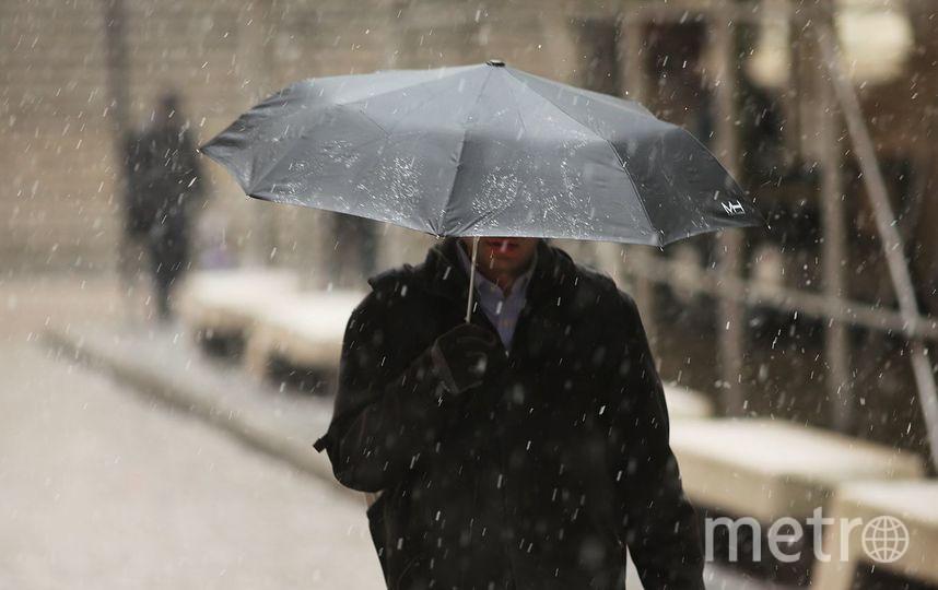 В Петербурге на дорогах ожидается гололедица. Фото Getty