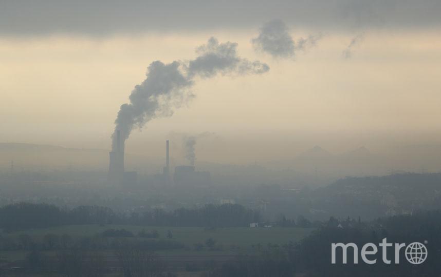 Запах газа стоит в городе две недели. Фото Getty