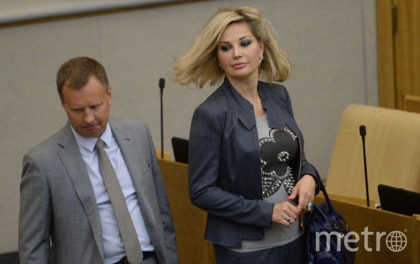 Денис Вороненков с женой Марией Максаковой. Фото РИА Новости