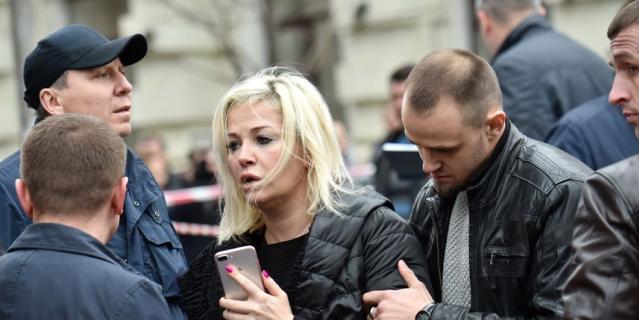 Убийство Дениса Вороненкова в Киеве: первые фото с места трагедии