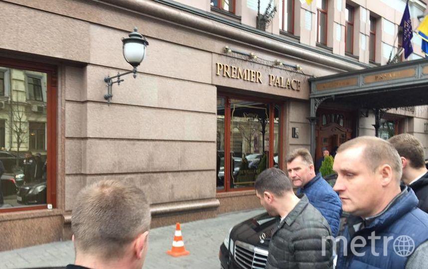 Фото с места событий. Фото предоставил Владимир Серветник