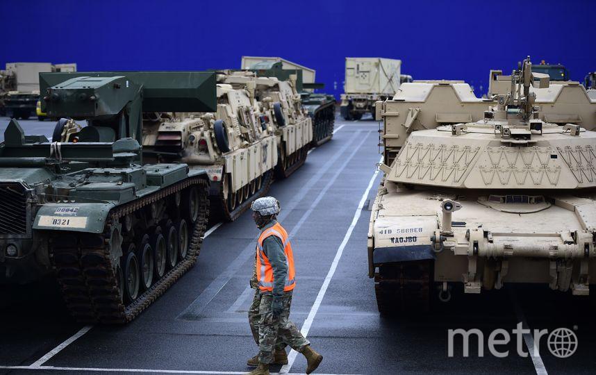 Армия США в Европе. Фото Getty
