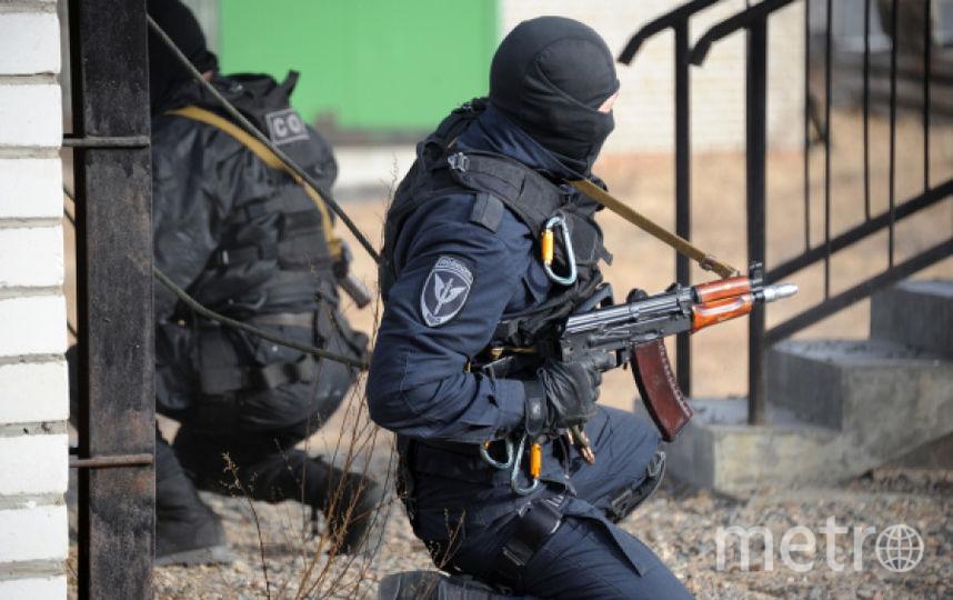 Боец Росгвардии. Фото РИА Новости