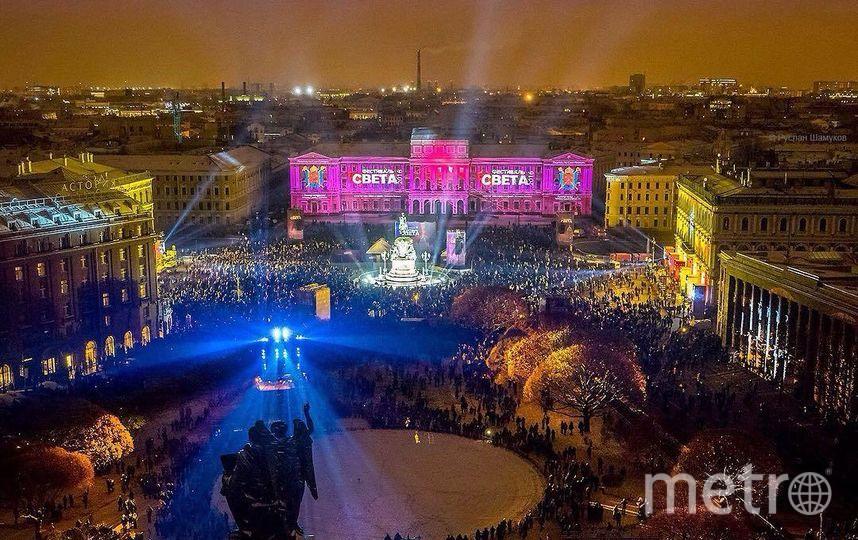 В Петербурге состоится Фестиваль света. Фото www.lfspb.ru
