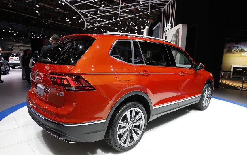 Volkswagen Tiguan. Фото Getty
