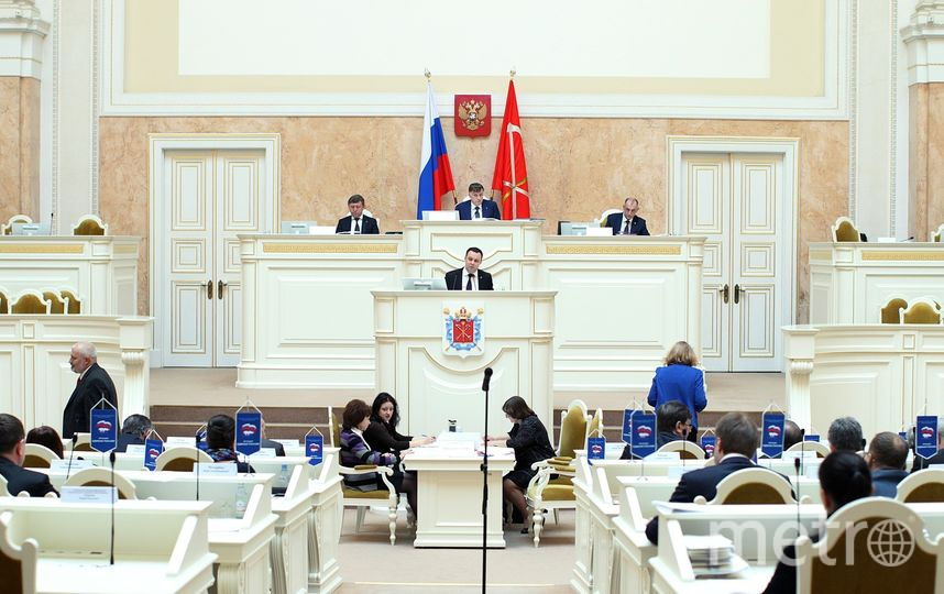 Оппозиционеров ЗакСа могут лишить перерывов для политических заявлений. Фото assembly.spb.ru