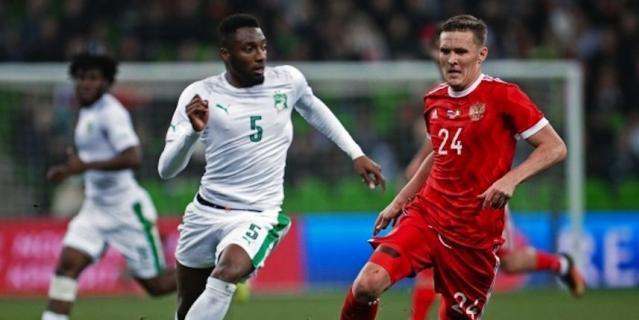 Сборная России по футболу впервые проиграла команде с африканского континента