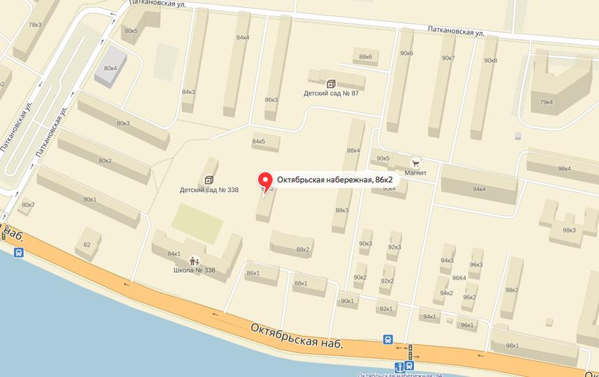 Скриншот: Яндекс.Карты.