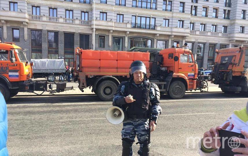 Пушкинская площадь. Фото Алексей Горбачёв.