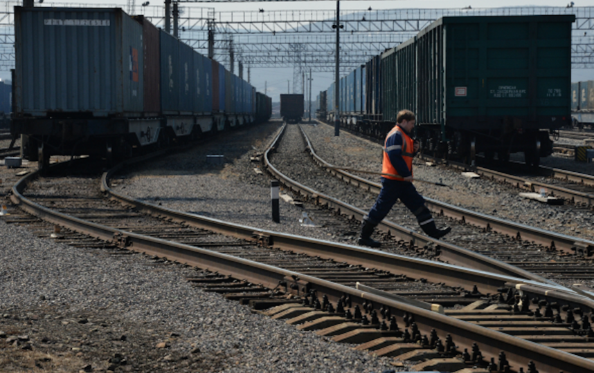 Железная дорога. Фото РИА Новости