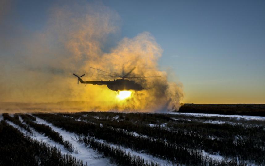 Вертолёт ВС Украины. Фото РИА Новости