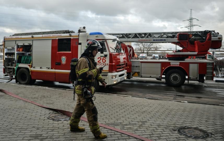 Пожарная служба города Москвы. Фото РИА Новости