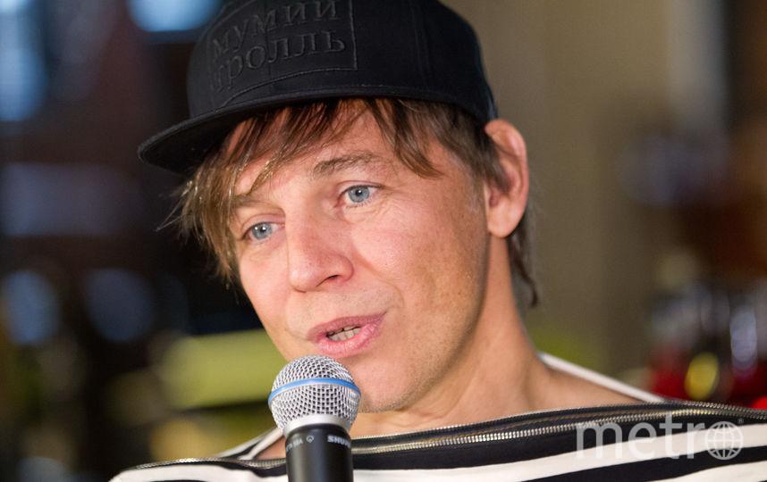 Илья Лагутенко. Фото Василий Кузьмичёнок
