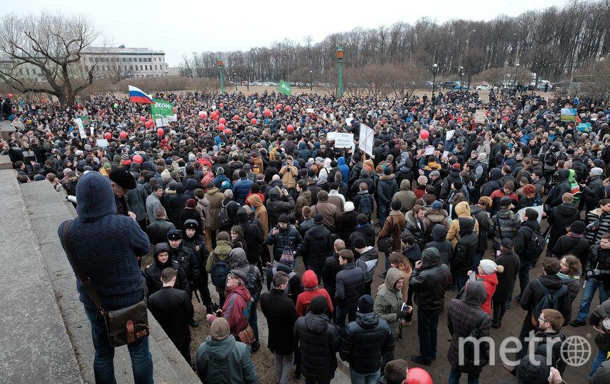 """В Петербурге общественники предложили маркировать митинги. Фото Алена Бобрович, """"Metro"""""""