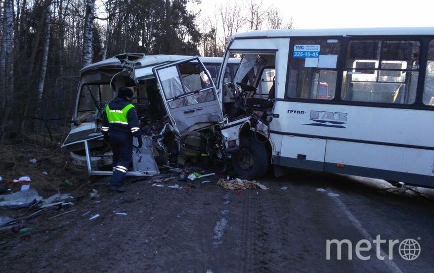 ВоВсеволожском районе столкнулись два маршрутных такси