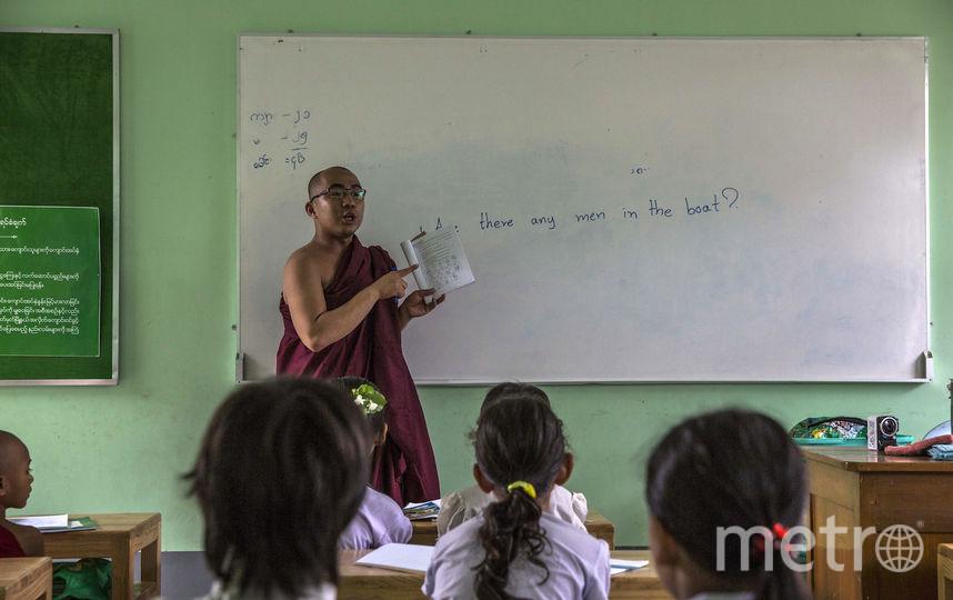 Китайский монах воспитывает 21 ребёнка. Фото Getty