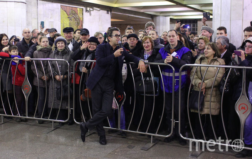 "Валерий Сюткин на фестивале ""Музыка в метро"". Фото Василий Кузьмичёнок"