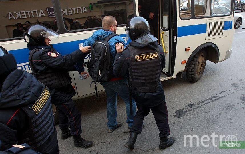 """Акция против коррупции в Москве. Фото Василий Кузьмичёнок., """"Metro"""""""