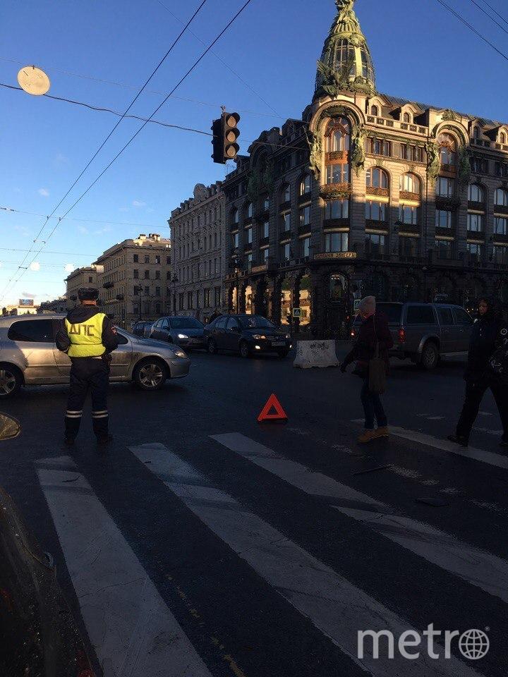 В центре Петербурга произошло сразу несколько ДТП. Фото «ДТП и ЧП | Санкт-Петербург», vk.com