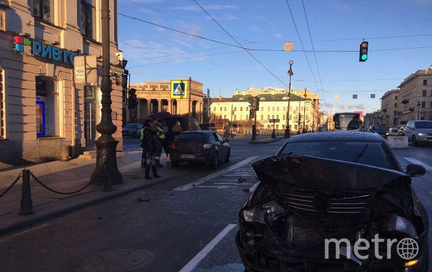Петербург: НаЛесном проспекте произошла массовая авария