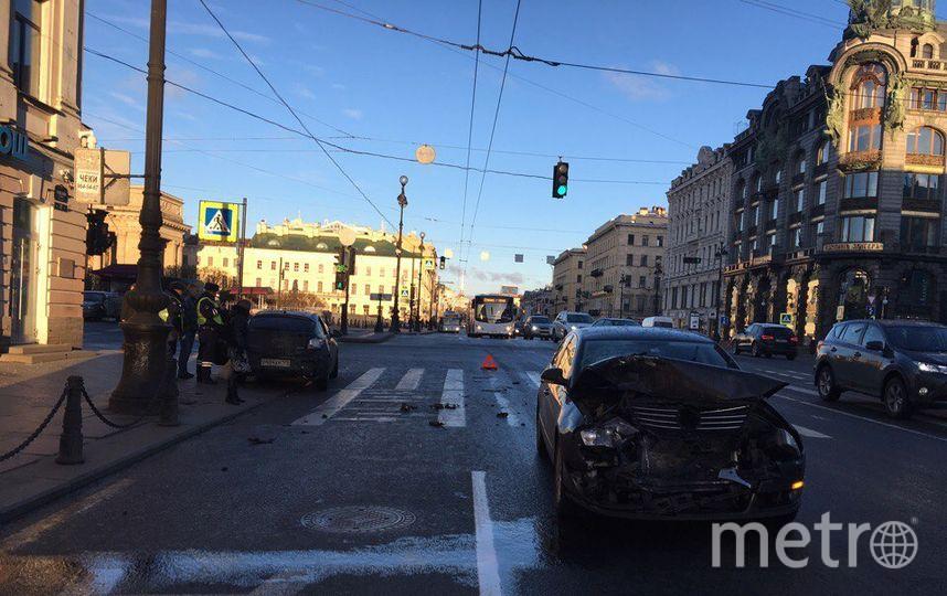 НаЛесном проспекте произошла массовая авария— свидетели