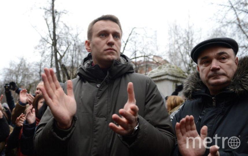 Оппозиционер Алексей Навальный. Фото Getty