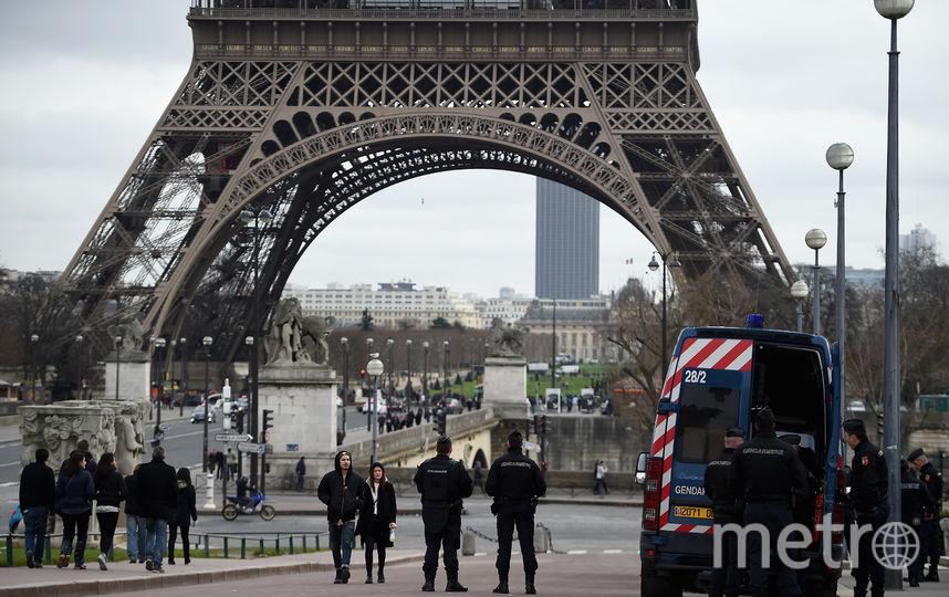 Эйфелева башня, Париж. Фото Getty