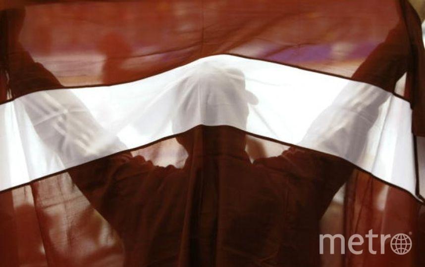 Флаг Латвии. Фото Getty