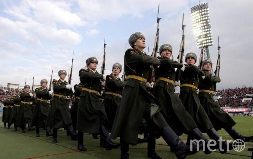 Армия РФ. Фото Getty