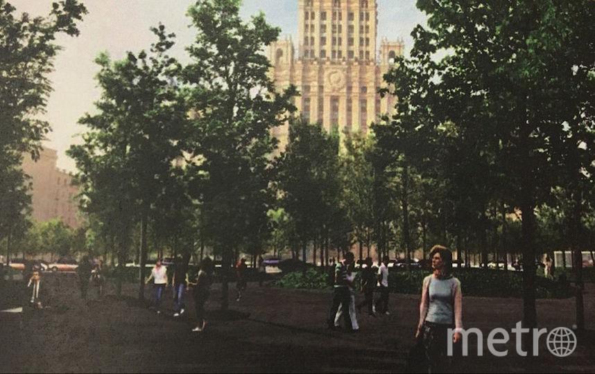 Так, как обещают, будет выглядеть площадь у Красных ворот следующим летом. Фото Фото предоставлено организаторами