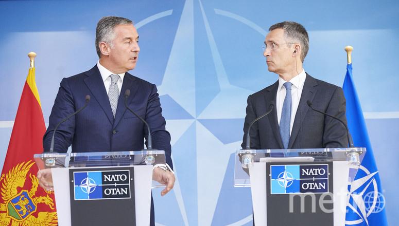 Глава НАТО Йенс Столтенберг и премьер-министр Черногории Мило Джуканович. Фото Официальный сайт НАТО.