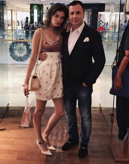 Лиза Адаменко с мужем Валентином Ивановым. Фото Instagram Лизы Адаменко