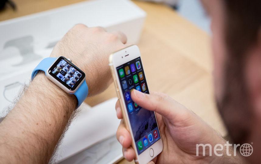 """""""Умные"""" часы. Фото Getty"""