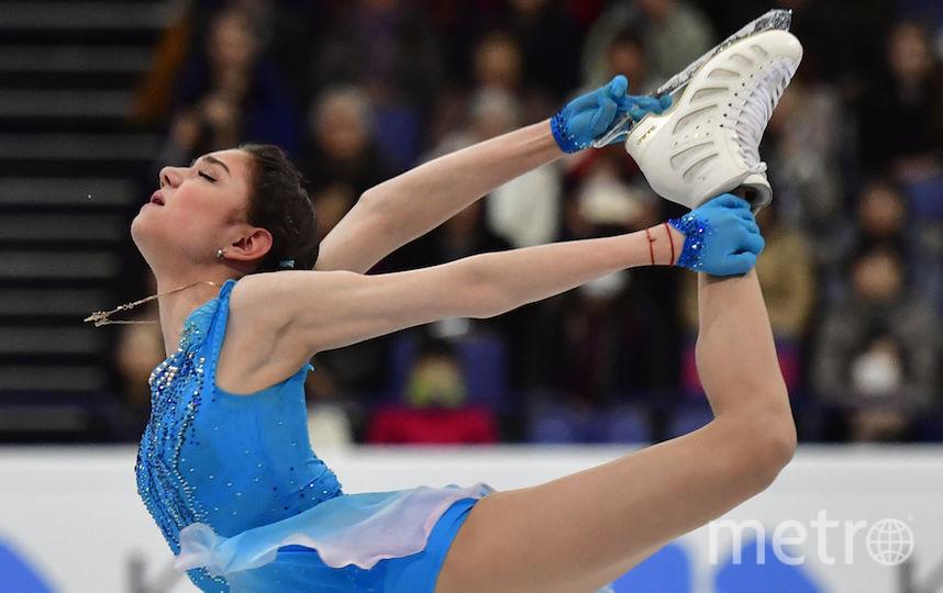 Евгения заявила, что усложнила программу, чтобы преодолеть себя. Фото AFP