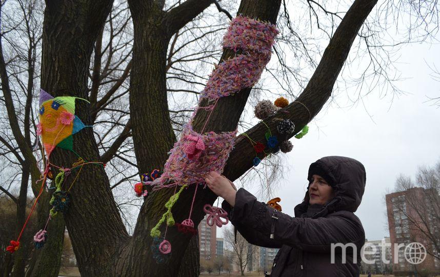 """Яркие узоры приближают весну. Фото Ольги Рябининой, """"Metro"""""""