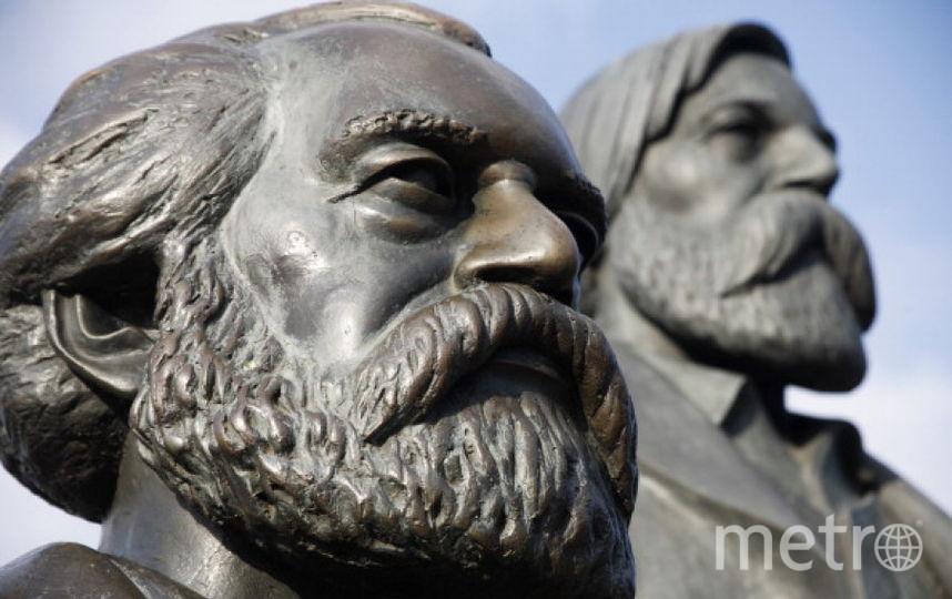 Карл Маркс и Фридрих Энгельс. Фото Getty