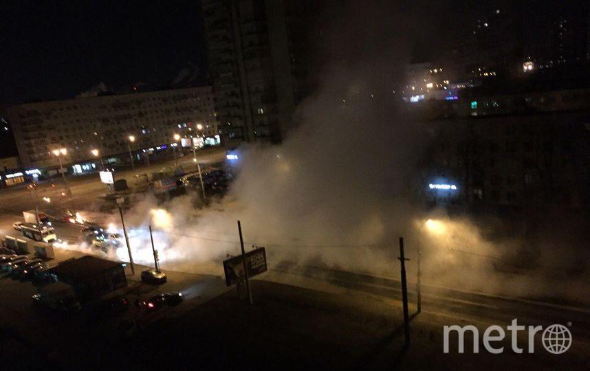 Тестирования теплосетей вКрасносельском районе стартовали спрорыва наЛенинском проспекте