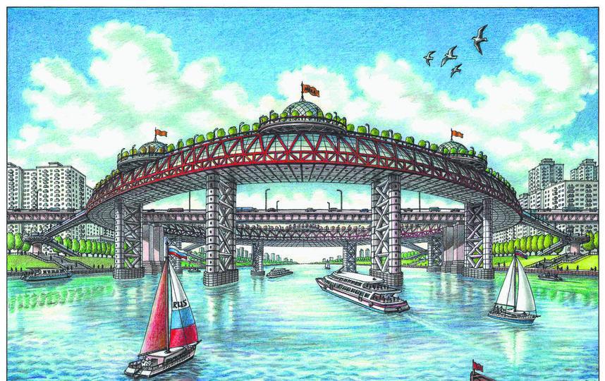 Новый вид Братеевского моста. Фото Артур Скижали-Вейс