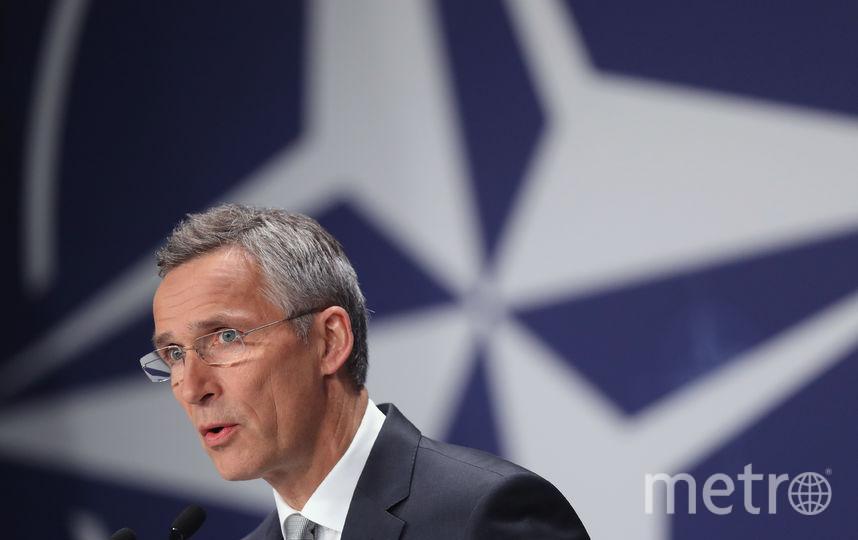 Генеральный секретарь НАТО Йенс Столтенберг. Фото Getty