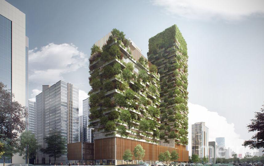 Вертикальный лес. Фото Stefano Boeri Architects
