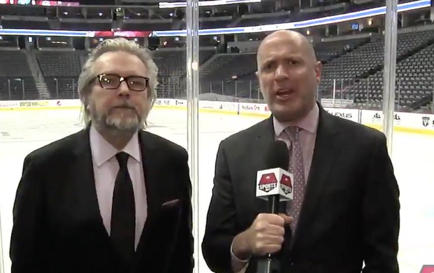 Александр Овечкин установил «рожки» репортерам клуба НХЛ