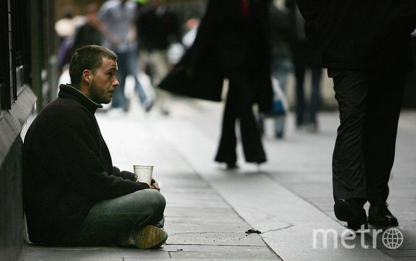 В Петербурге создали тест на риск оказаться бездомным. Фото Getty
