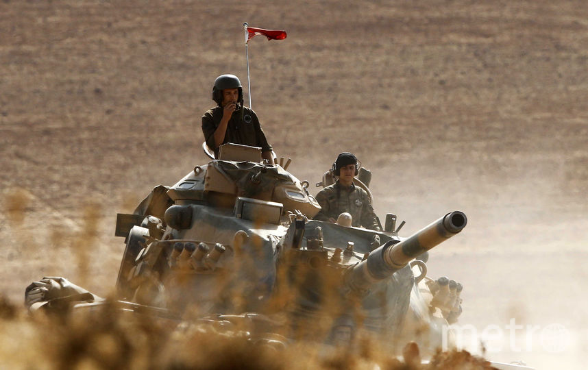 ВС Турции в Сирии. Фото Getty