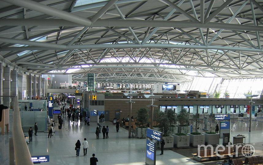 Аэропорт Инчхон. Фото Wikipedia/Pmsyyz