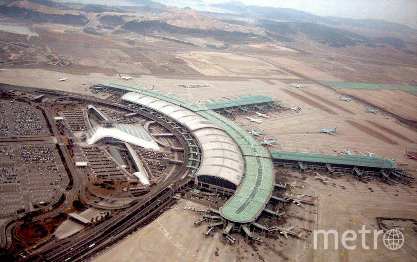 Аэропорт Инчхон. Фото Wikipedia/Siqbal
