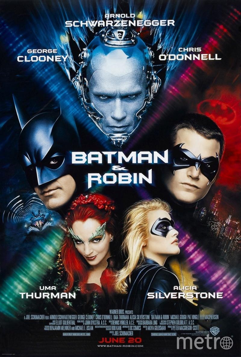 """Постер к фильму """"Бэтмен и Робин"""", 1997 год. Фото kinopoisk.ru"""