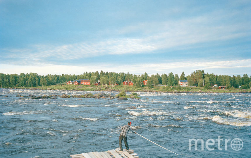 Финско-шведская граница. Фото Валерио Винчензо