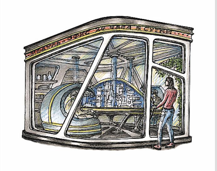 «Кабина виртуальной реальности». Фото Артур Скижали-Вейс