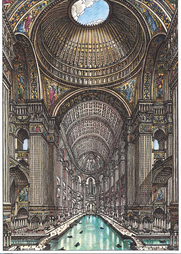 Жилой комплекс в виде гигантского кафедрального собора. Фото Артур Скижали-Вейс