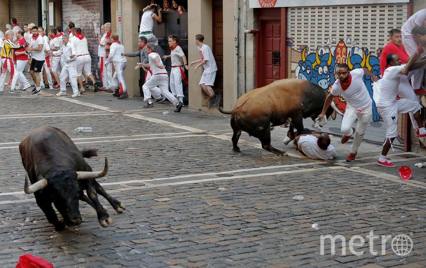 Фестиваль Сан-Фермин в Испании. Фото Getty